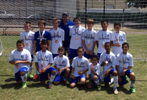 El Cajon Matrix BU12 at the California State Games